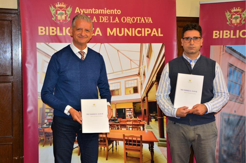 La Biblioteca Municipal de La Orotava sigue siendo un referente