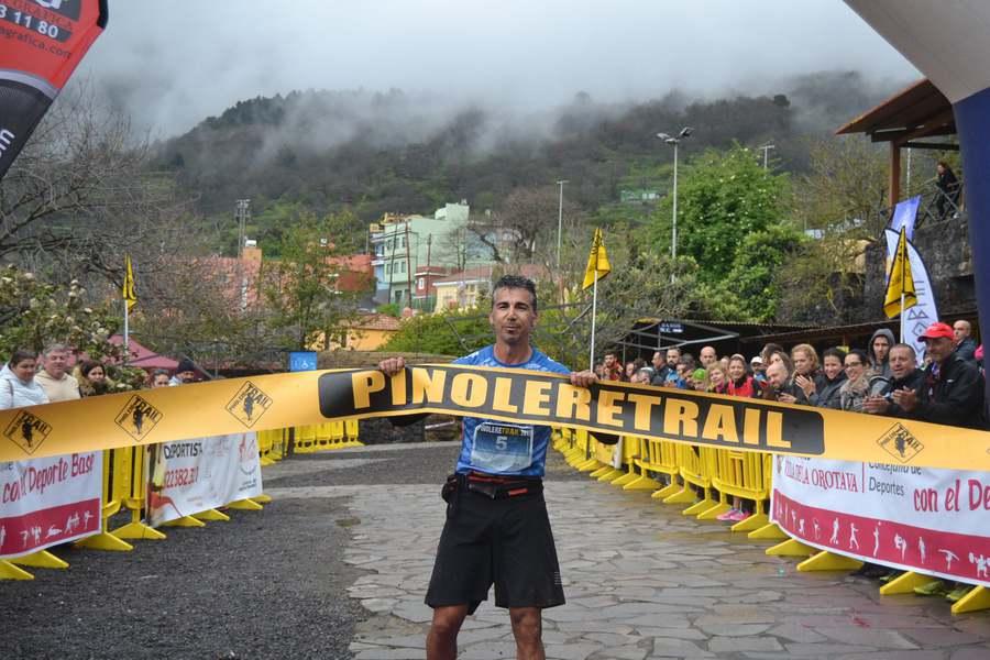Glendor Rodríguez y Silvia Pérez vencen en Pinolere Trail