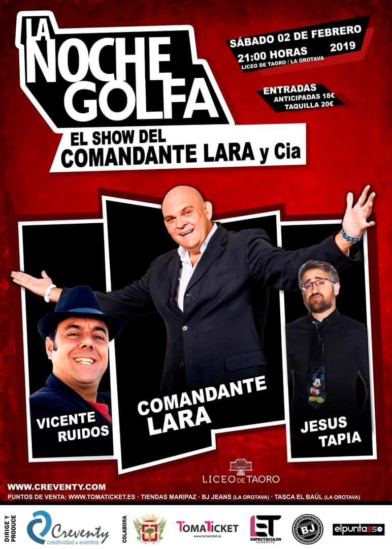 El fenómeno Luis Lara lleva su espectáculo cómico al Liceo Taoro de La Orotava