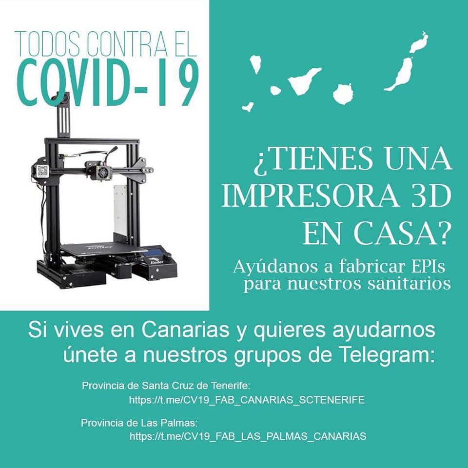 El IES La Orotava se suma a las iniciativas del colectivo Maker para combatir el coronavirus