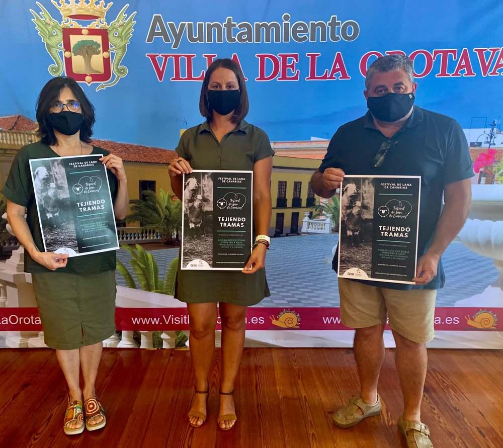 'Tejiendo Tramas' despliega desde septiembre en Pinolere sus actividades en torno a la lana y la sostenibilidad