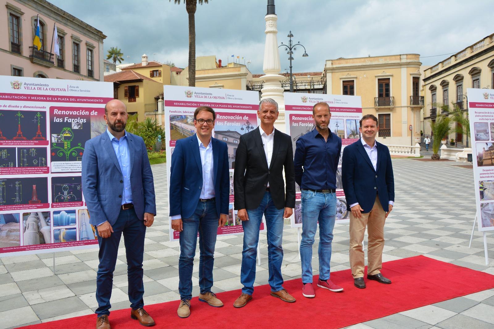 La Plaza del Ayuntamiento presenta una nueva imagen tras un proceso de rehabilitación
