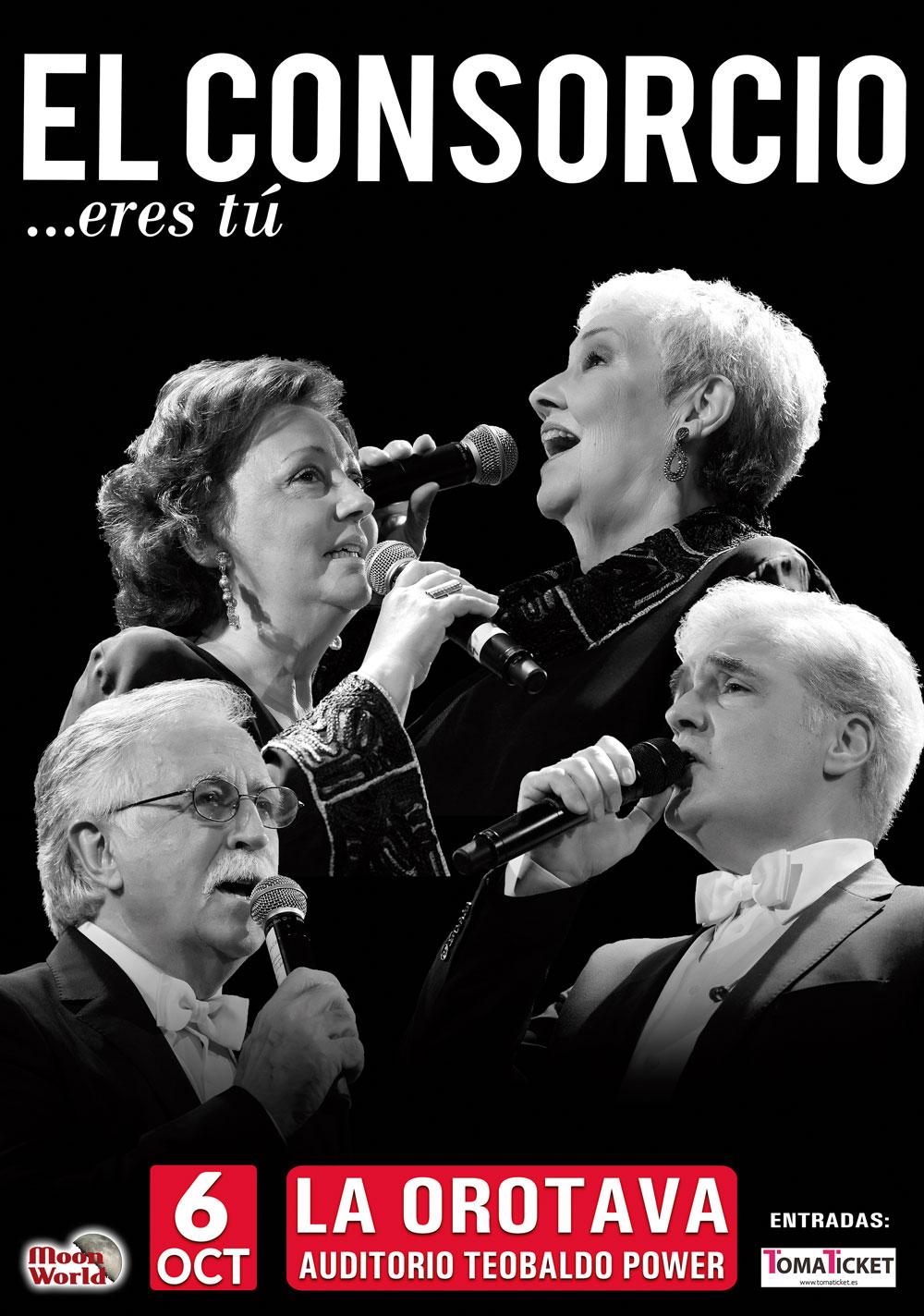El Consorcio llega a La Orotava con su gira 'Eres tú?' de grandes éxitos