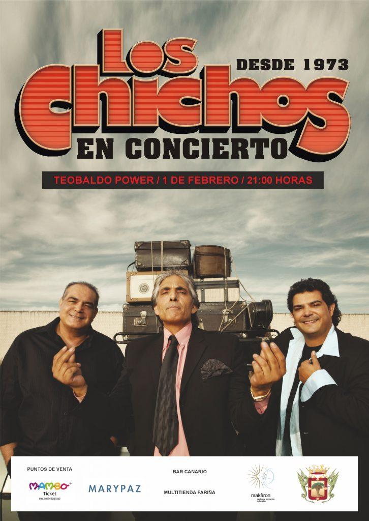 Los Chichos actuarán es febrero en La Orotava