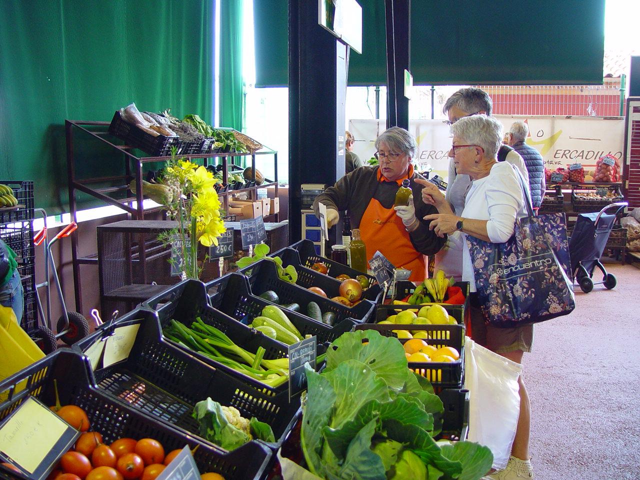 Eco La Viejita aporta más de 12.000 metros cuadrados de cultivo al Mercadillo Valle de La Orotava