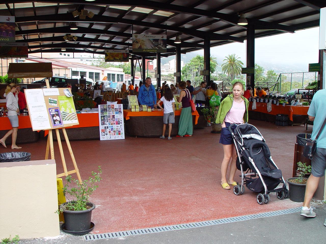 El Mercadillo Valle de La Orotava abre tres de los cinco sábados de este agosto