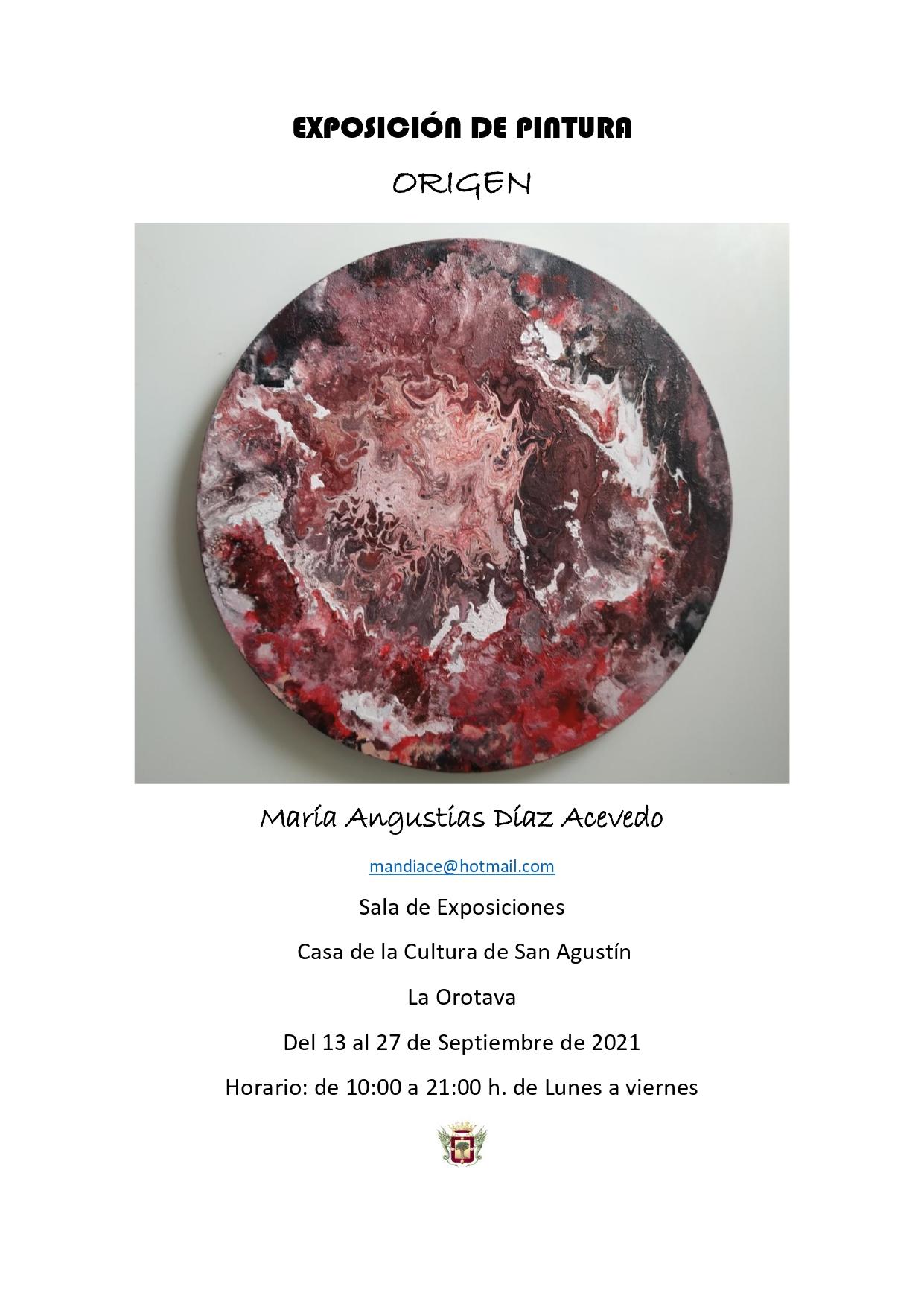 La exposición podrá ser visitada entre los días 13 y 27 de septiembre (de lunes a viernes), en horario de 10:00 a 21:00 horas
