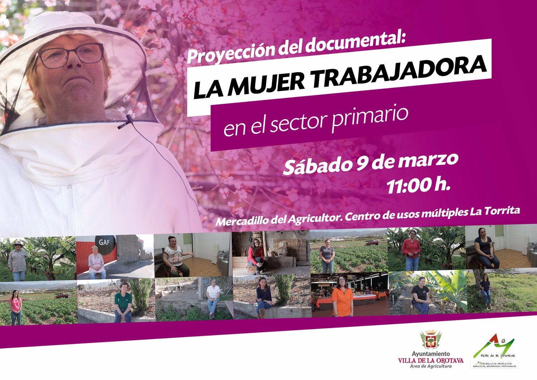 Proyección de un documental sobre las mujeres trabajadoras en el sector agrario