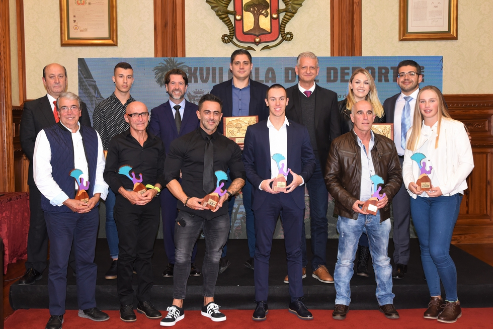 El Salón Noble del Ayuntamiento acogió la XVII Gala del Deporte