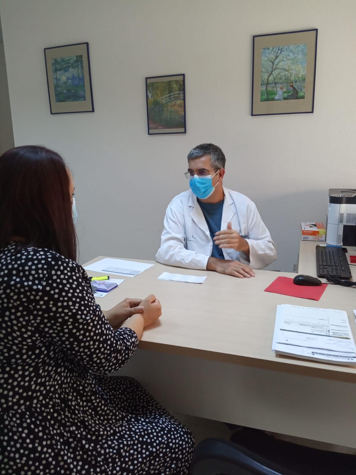 El HUC pone en marcha una consulta de Oncología Radioterápica en el CAE de La Orotava