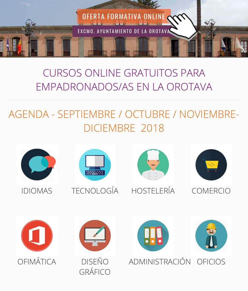 La plataforma formativa online que ofrece el Ayuntamiento villero registró más de 1.300 matrículas en solo seis meses