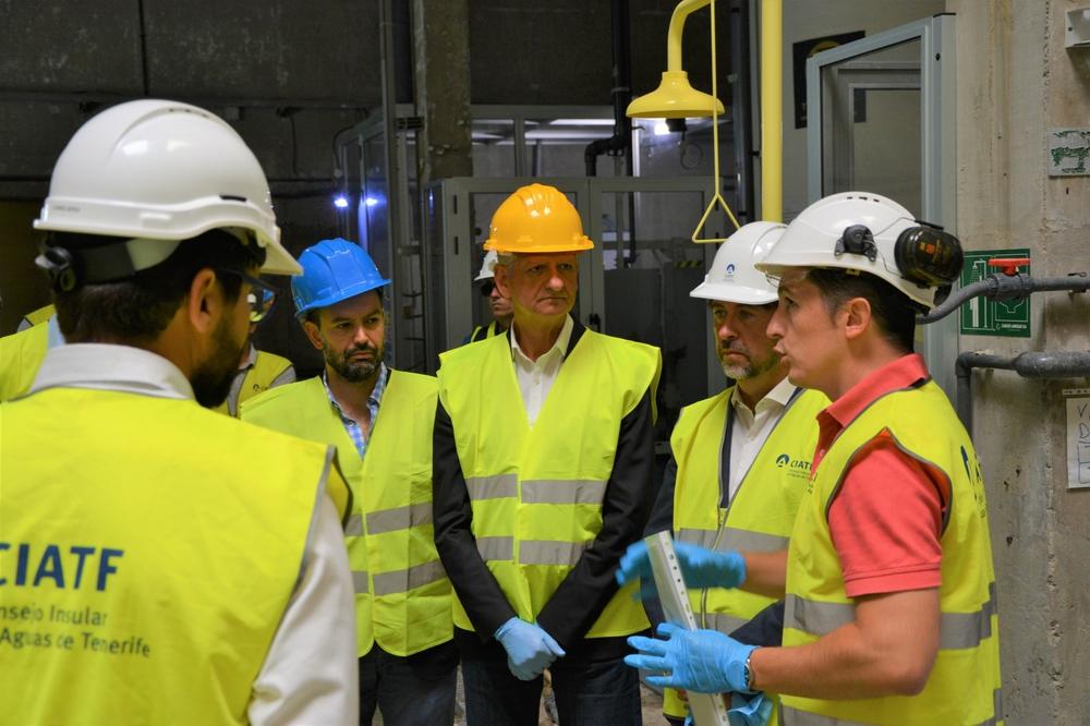 Inversión de 8 millones en obras de encauzamiento y depuración de aguas en el Valle de La Orotava