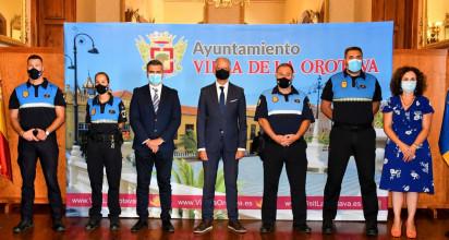 Toma de posesión de tres nuevos oficiales de la Policía Local de La Orotava