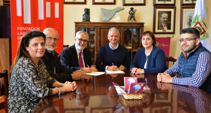 La Fundación Laboral de la Construcción y el Ayuntamiento de La Orotava firman un convenio para impulsar la formación en el sector