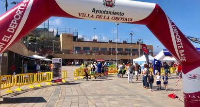 La Plaza del V Centenario acogió la Feria del Deporte Infinity