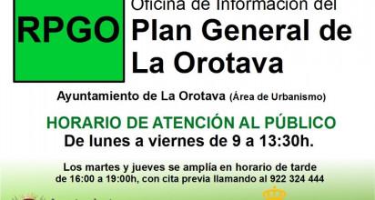 Consulta el PGO de La Orotava