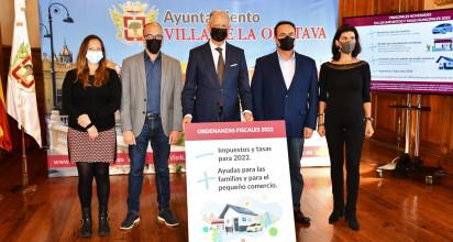 Los grupos políticos consensuan distintas propuestas con el objetivo de beneficiar a los vecinos de la Villa