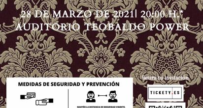 El recinto orotavense ofrecerá un concierto de la Agrupación Musical Orotava junto con la Banda de Cornetas y Tambores de San Juan Bautista el próximo 28 de marzo, con invitaciones en la plataforma tickety.es