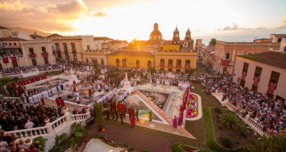 Cerca de 200.000 personas visitaron La Orotava la Semana Grande