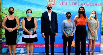 """El proyecto """"Historias de vida en femenino"""" ha sido coordinado por la Concejalía de Bienestar Social del ayuntamiento orotavense y el área de Juventud e Igualdad del Cabildo de Tenerife."""
