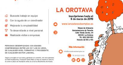Abierta la inscripción para una nueva lanzadera en La Orotava