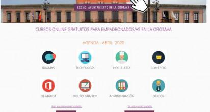 El Ayuntamiento de La Orotava ofrece un centenar de cursos online