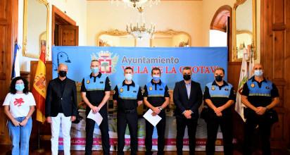 La Orotava incorpora 3 nuevos agentes a la Policía Local