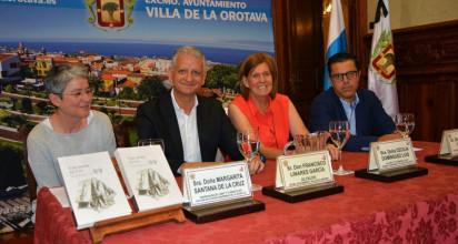 PRESENTADO EL NUEVO LIBRO DE LA VILLERA DE HONOR Y PREMIO CANARIAS DE LITERATURA, CECILIA DOMÍNGUEZ