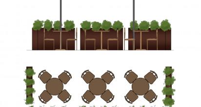 El pleno del Ayuntamiento de La Orotava ha aprobado con el consenso de todas las fuerzas políticas (CCa-PNC, PSOE, Asamblea por La Orotava y PP) la normativa que permitirá a bares, cafeterías y restaurantes abrir terrazas en espacios públicos