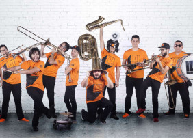 La 101 Brass Band participa en el XIII Concurso Internacional de Fanfarrias