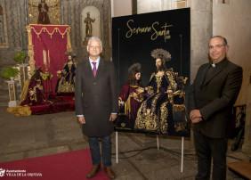 La Iglesia de la Concepción acogió la presentación del programa y el cartel de la Semana Santa