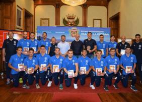 Recepción al CDS Tenerife, campeón de Tenerife y de Canarias