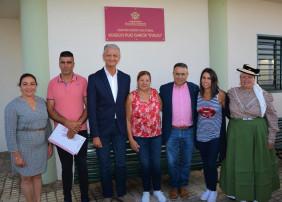 """ROTULACIÓN OFICIAL DEL CENTRO SOCIO-CULTURAL ROGELIO RUIZ GARCÍA """"EVELIO"""" EN BENIJOS"""