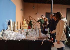 Visita a los belenes del concurso organizado por el Ayuntamiento de La Orotava