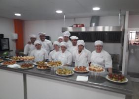 La Escuela Superior de Hostelería Tenerife Norte, este sábado en el Mercadillo Valle de La Orotava