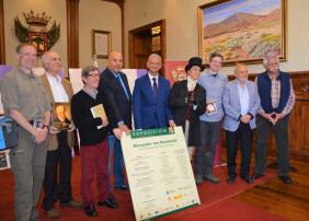 El Ayuntamiento recibe a estudiantes de la Universidad de Humboldt con motivo del 250 aniversario del nacimiento del geógrafo