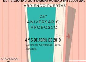 Probosco organiza las primeras Jornadas de Participación y Ciudadanía de Personas con Discapacidad Intelectual