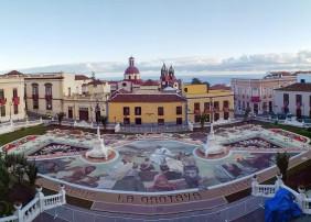 Magno tapiz de la plaza del Ayuntamiento 2019