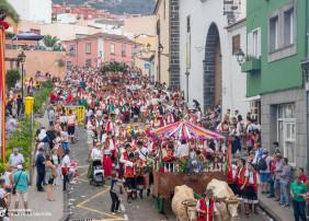 """Miles de personas participan en la Romería de San Isidro en La Orotava, """"la fiesta más bonita que hay en Canarias"""""""