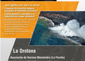 """Regresa el programa educativo """"Canarias: una ventana volcánica en el Atlántico"""""""