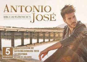 El cantante Antonio José actúa en el barrio orotavense de Benijos