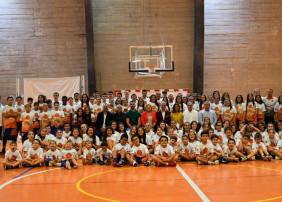 presentación del Club Baloncesto Valle Arautápala y sus equipos de base