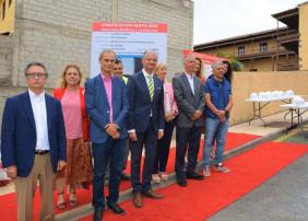 Comienza la construcción del edificio de Cruz Roja
