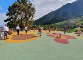 El barrio de La Florida estrena nuevo parque infantil