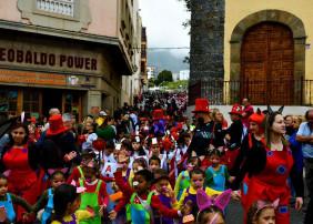 Más de 2.400 niños participaron en el Coso infantil