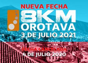 La carrera nocturna 8Km Orotava se celebrará el 3 de julio del próximo año