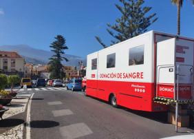 DONA SANGRE                    La Orotava cuenta esta semana con la unidad móvil para una nueva campaña de donación de sangre.