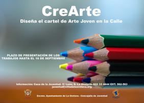 Juventud convoca una nueva edición del concurso CreArte para elegir el cartel de Arte joven en la Calle