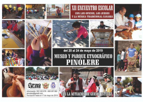 Pinolere celebrará el XII Encuentro Escolar con los oficios, juegos y música tradicional canaria en mayo