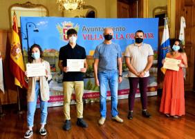 Elizabeth Ramírez, Elena Hernández y Gabriel Afonso, ganadores del XX certamen del Relato Hiperbreve